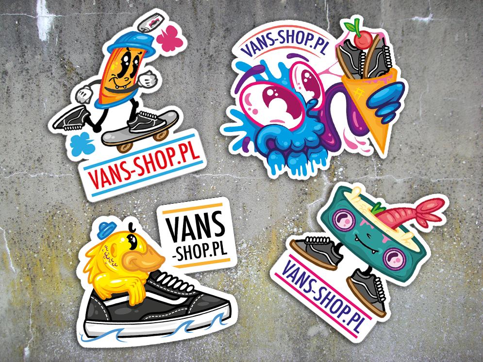 atrakcyjna cena specjalne wyprzedaże buty na codzień Stickers design for Vans Shop | Art Graphic Designs and ...