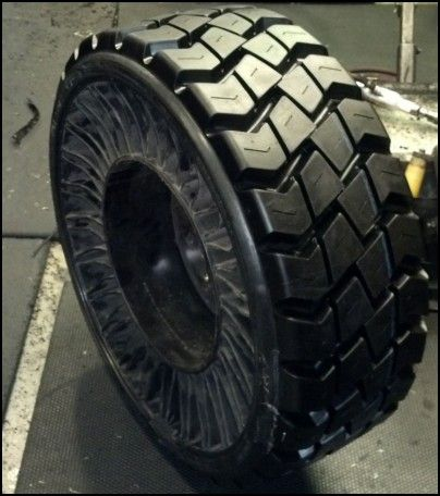 Airless Truck Tires For
