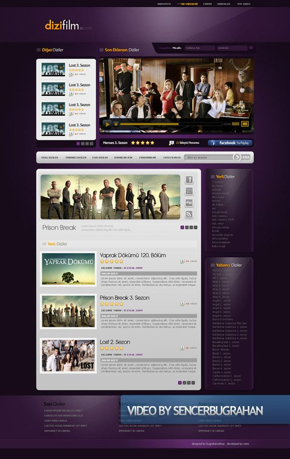 Video Creative Web Design Layout Inspiration 1 Layout Design Inspiration Web Layout Design Web Design