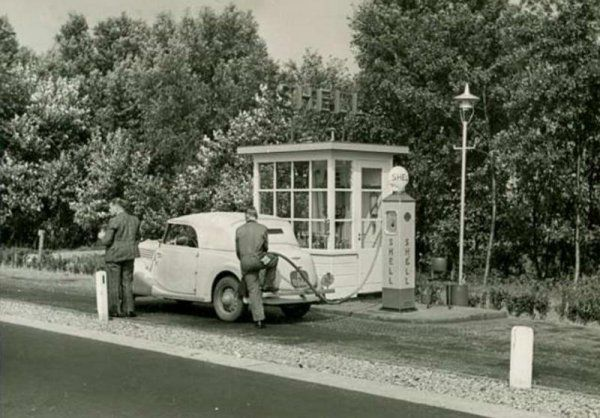 Old Shell Station