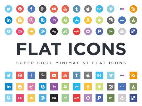22 best free social media icons buttons design pinterest 40 new and free icon sets flat social icons flat icon set reheart