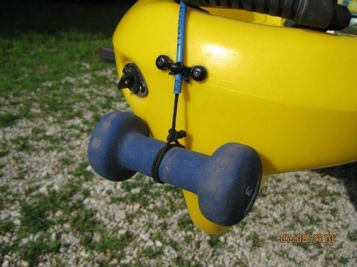 Photo of DIY Kayak Fishing Anchor Using Retractable Dog Leash