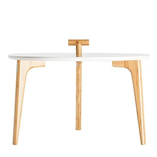 Cool Gwdj Side Table Round Solid Wood Coffee Table Modern Simple Beatyapartments Chair Design Images Beatyapartmentscom