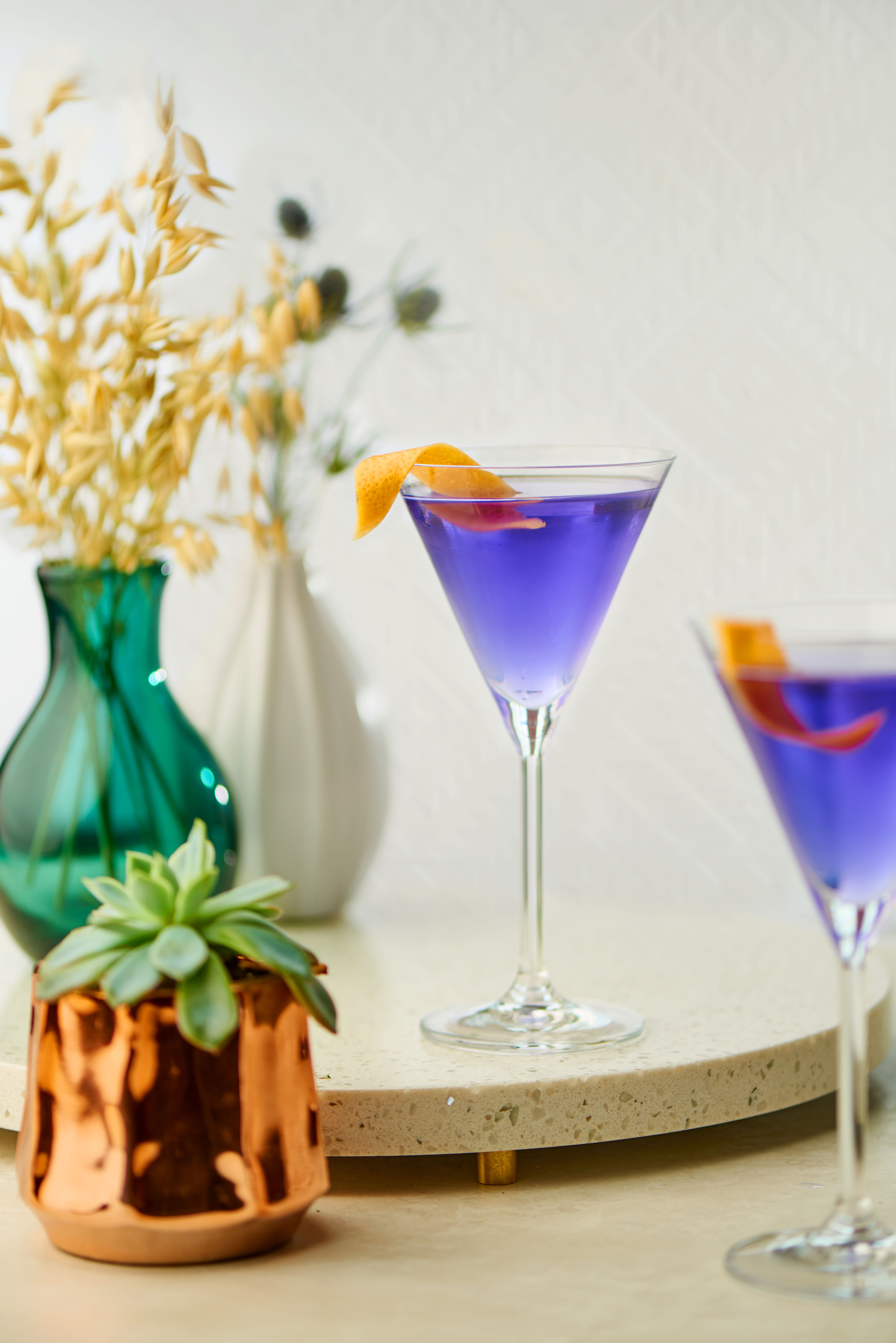 Empress martini gin cocktails gin cocktail recipes martini