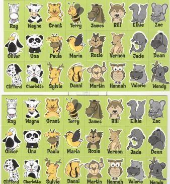 jeu qui est-ce? animaux | FLE enfants | Pinterest ...