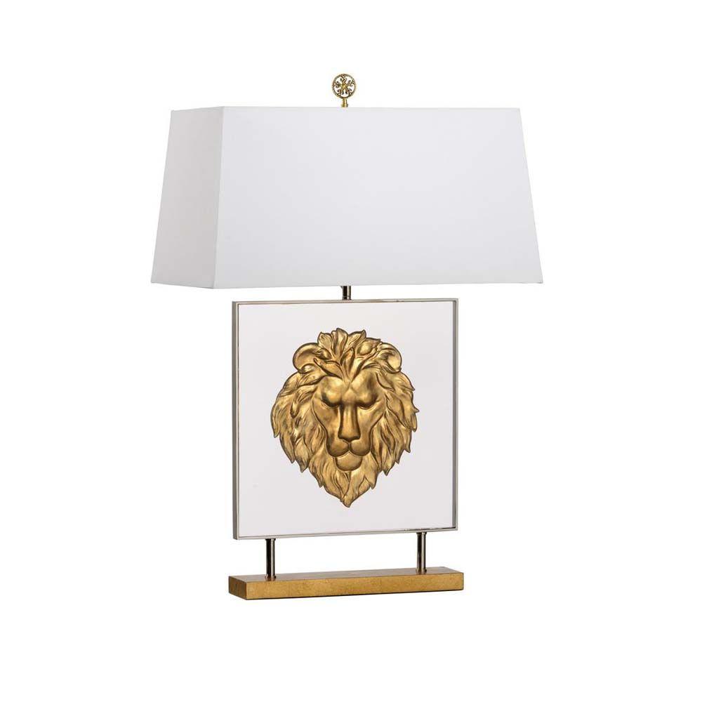 Chelsea House Lighting Gold Lion Head Lamp 69367 Price Match