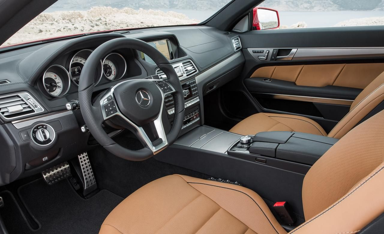 mercedes benz has revealed the facelifted 2014 e class coupe and cabriolet ahead of a public debut later this month at the detroit auto show - Mercedes Suv Interior 2014