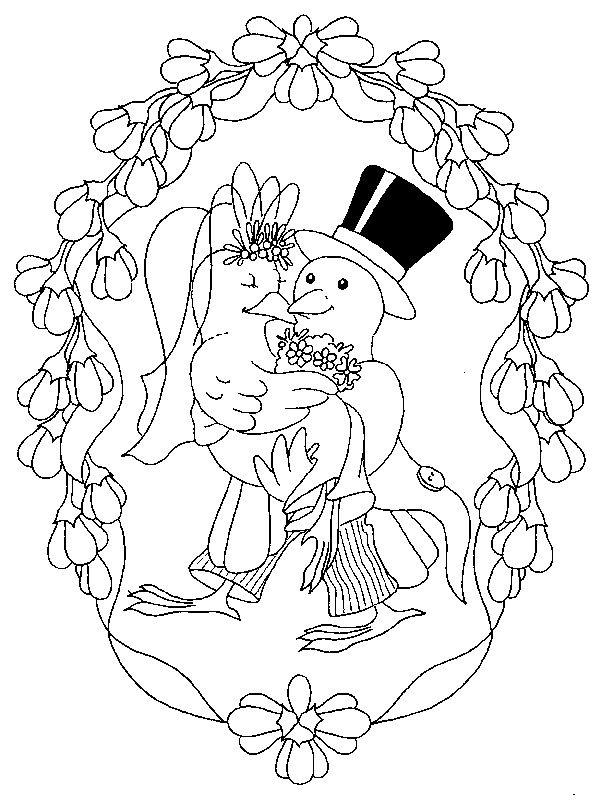 Ausmalbild Heiraten Heiraten auf Kids-n-Fun.de. Auf Kids-n-Fun Sie ...
