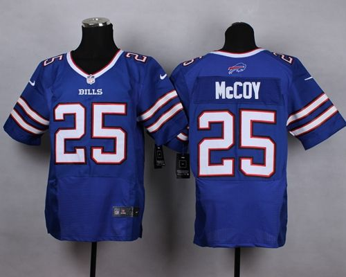 mens nfl buffalo bills lesean mccoy light blue new) elite jersey