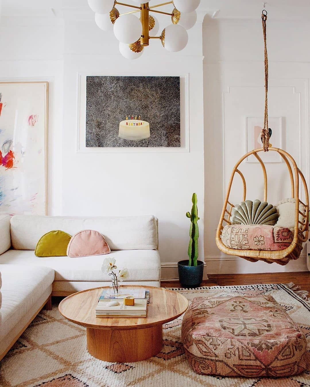 Sian Zeng Wallpapers On Instagram Swinging Into The Weekend Like Adore This Interior From Reserv Whimsical Living Room Living Room Designs Home Decor Whimsical living room decor