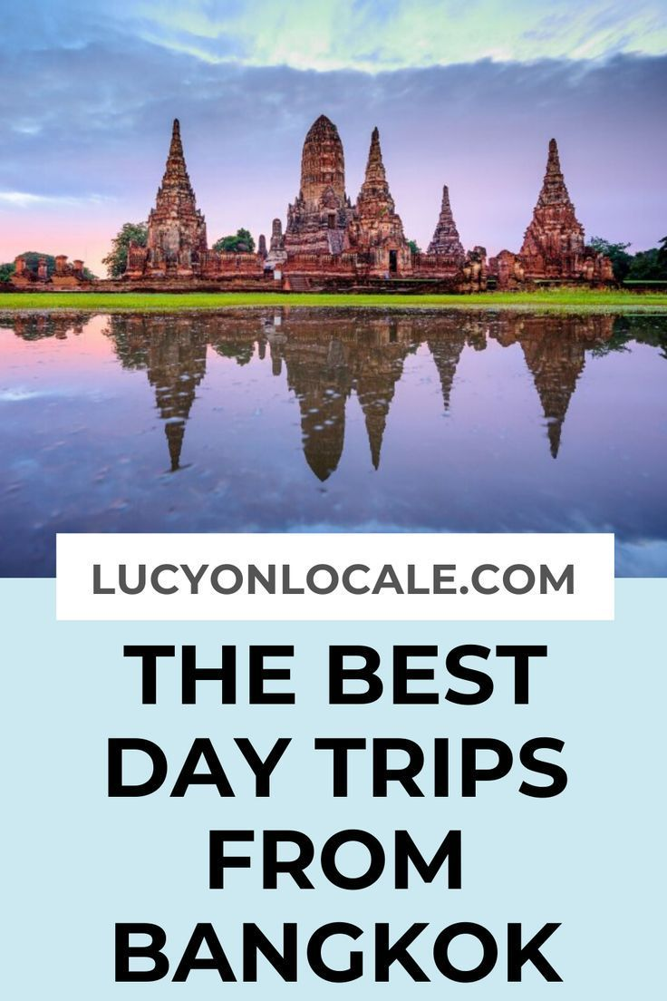 The best day trips from Bangkok for your perfect trip: , Koh Sichang, Khao Yai National Park, , and Samut Prakan. | south east asia travel destinations #Ayutthaya #Pattaya #travel #travelblog #blog #blogger #travelblogger #destination #Thailand #Asia #Bangkok #daytrip #daytrips #BangkokDayTrip #BangkokDayTrips