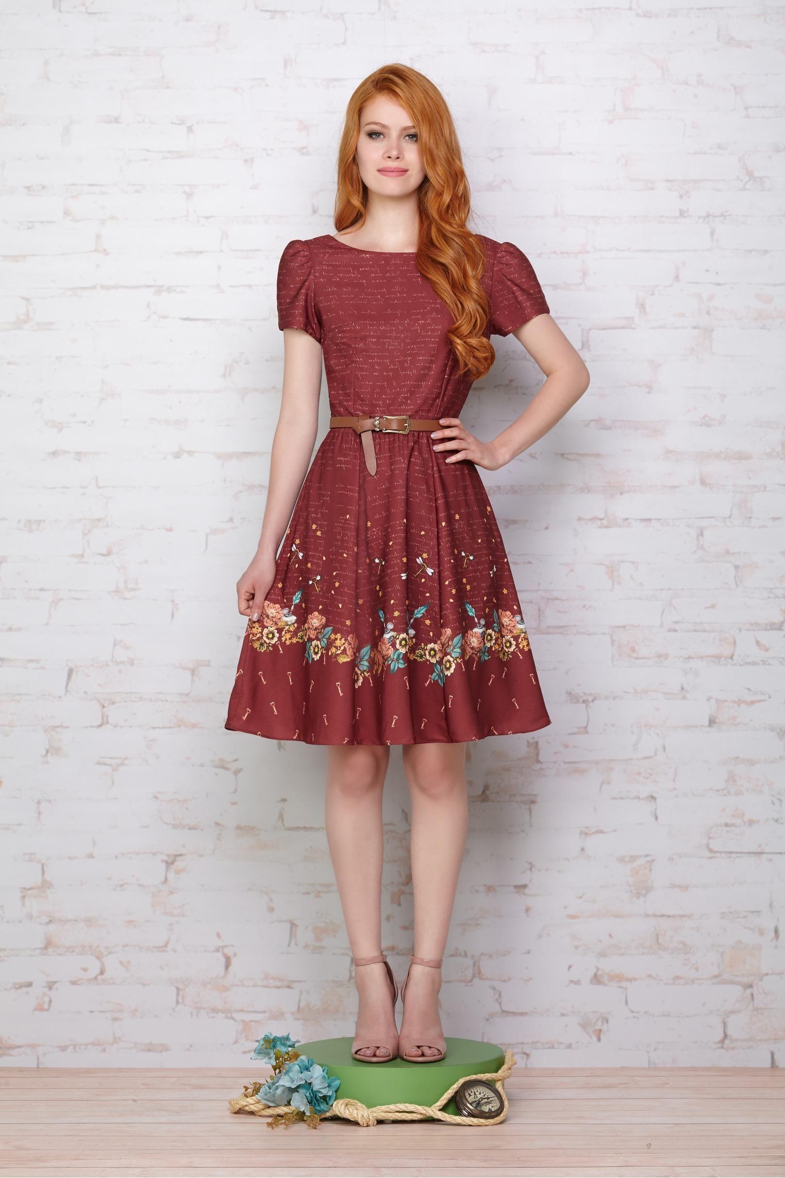5486ce0a3 Vestido Flores Filosofais | Cuplover | Roupas, Looks femininos e ...