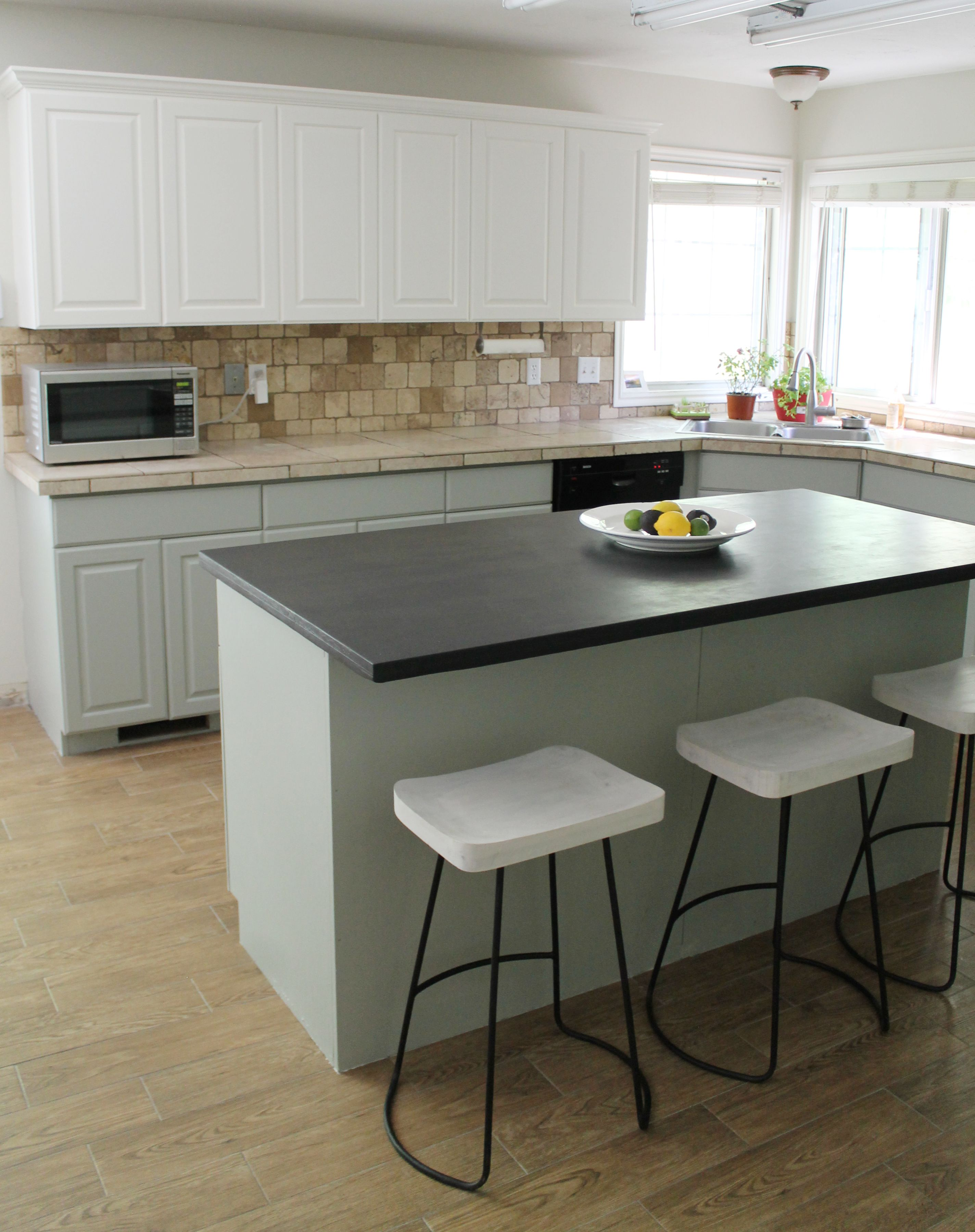 Our Painted Kitchen Cabinets