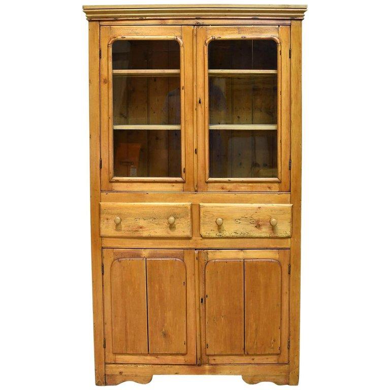 Scottish Shallow Cupboard In Pine