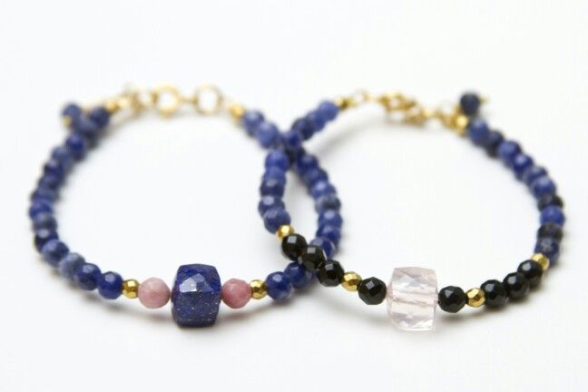 Pulsera lapizlazuli ♡ Lapizlazuli bracelets  18eur