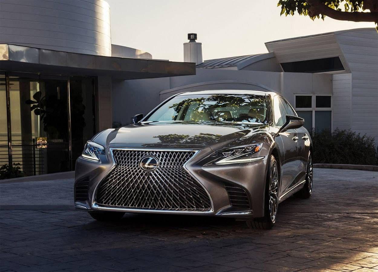 Novo Lexus LS 500 20192020 o novo carrochefe Lexus