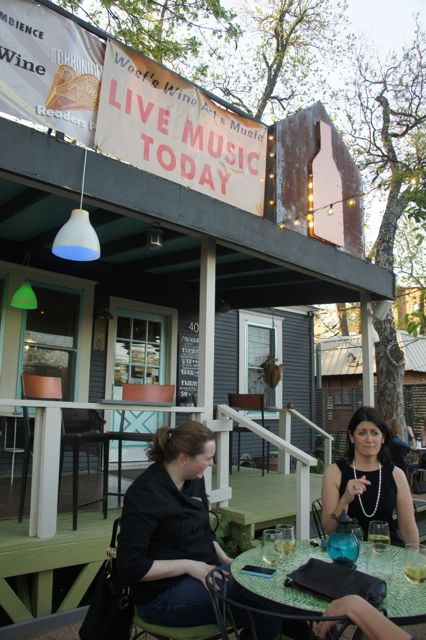 Austin Texas House Wine Daily Specials Live Music Open Mic
