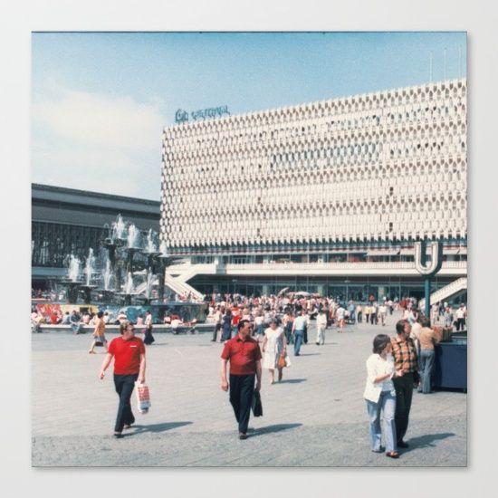 East Berlin Alexanderplatz 60ies 70ies Vintage Ddr Photography East Berlin East Germany Berlin