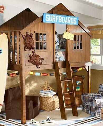 little boys dream bedroom | Very cool little boy\'s beachside ...