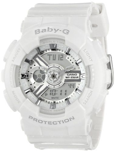 Casio Womens Ba1107a3cr Babyg Og Display Quartz White Watch Check Out This Great
