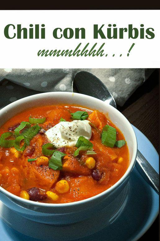 Photo of Chili con pumpkin. Mmmmhhhh ….!