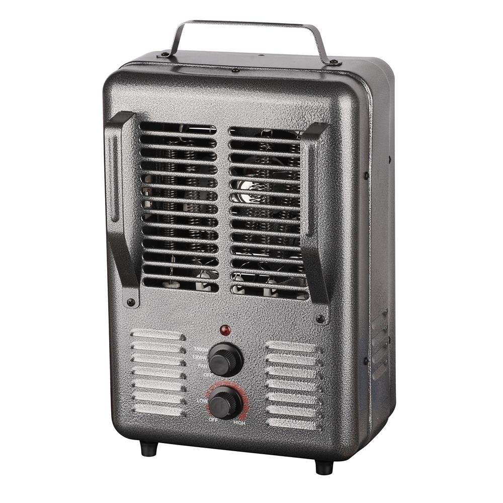 King Electric Portable Milkhouse Heater 1500w 120v Gray House