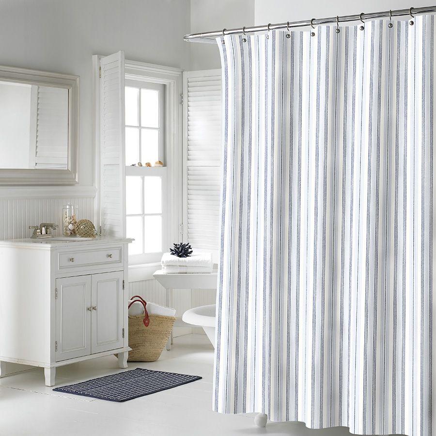 grey and white striped shower curtain. Dark Grey And White Striped Shower Curtain