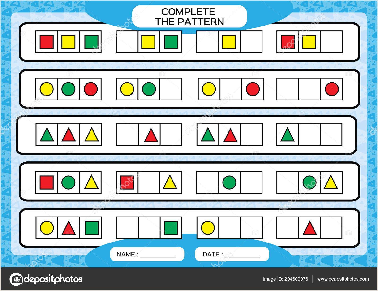 Color By Number Worksheets For Kindergarten In