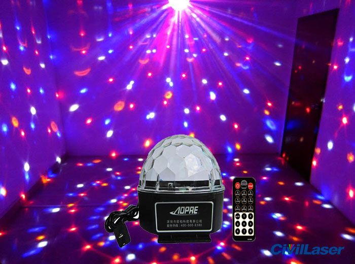 Cheap LED Lighting Disco Crystal Ball Small Projector For Home - Disco lights for bedroom