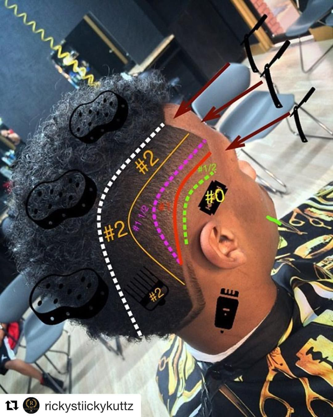Haircut designs black men  likes  comments  hairchitect by joffre jara hairchitectapp