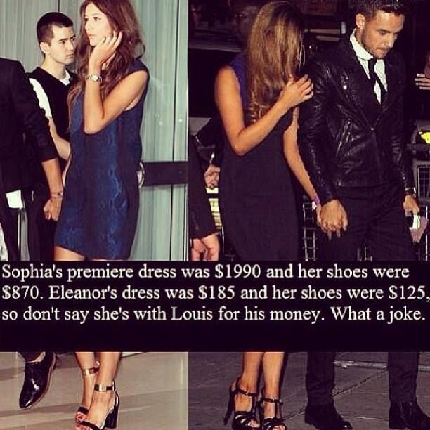 No Words. Sophia... I'm Sorry. But no.