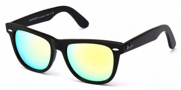 5d755a73bc Ray Ban RB2140 54-18 Original Wayfarer Flash Lens