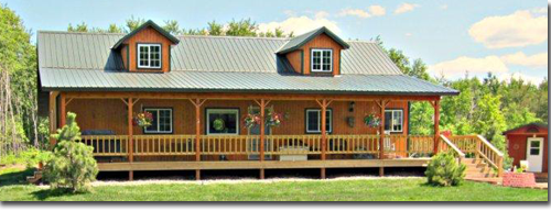 Pole barn house plans pole barn homes home design for Building a house in minnesota