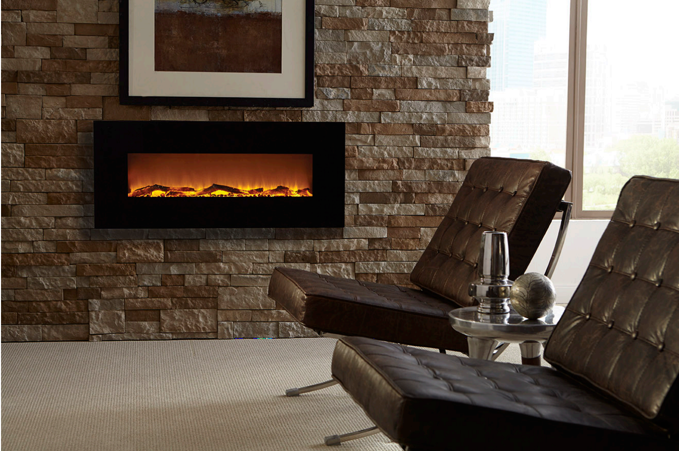 Touchstone Onyx 50 Wall Mounted Electric Fireplace 80001