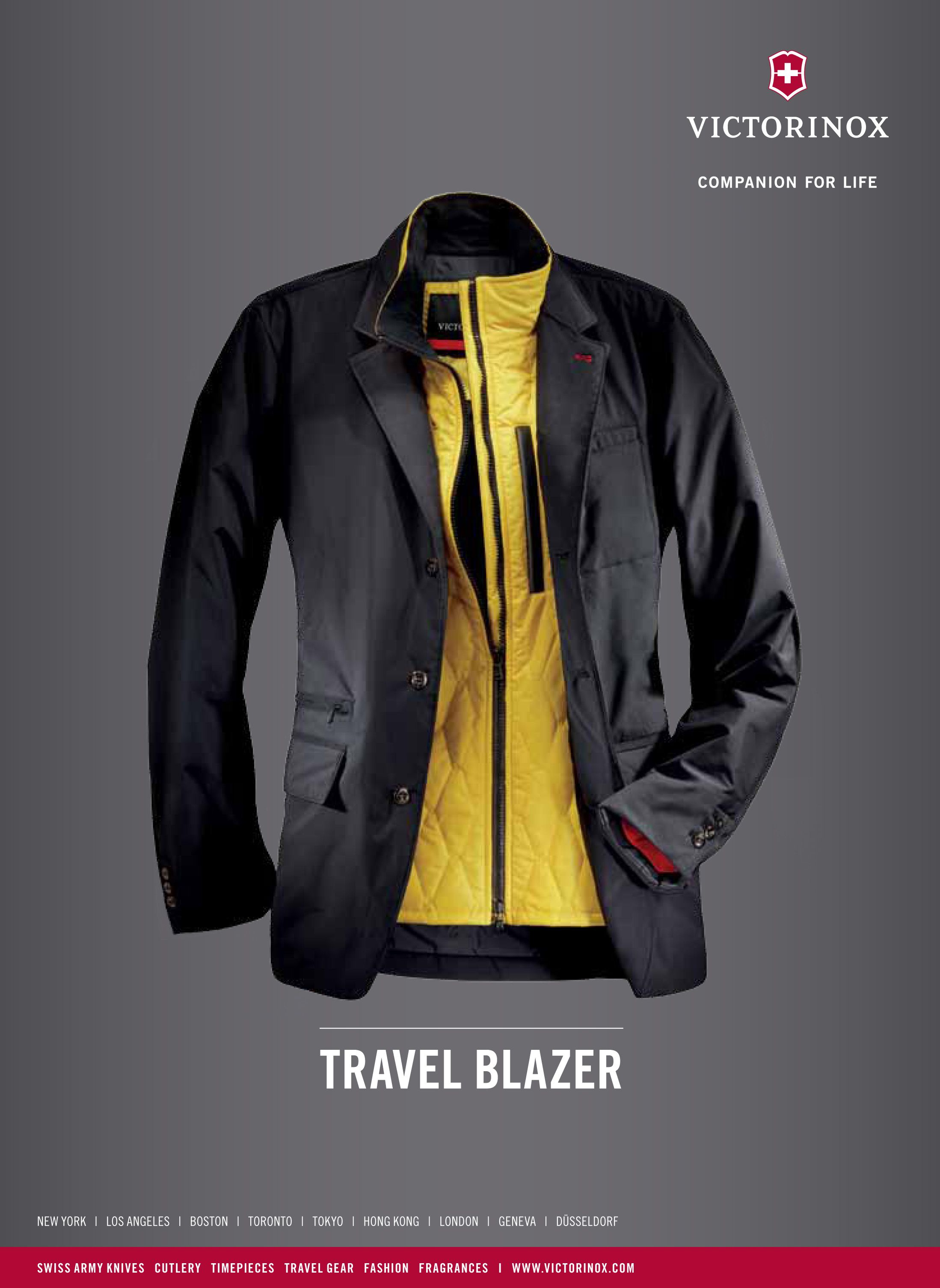 Victorinox - Travel Blazer | Victorinox Fashion - The Style Guide