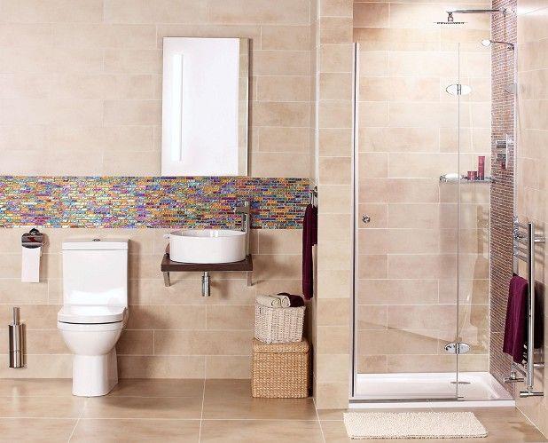 shanghai chocolate mosaic tile  bathroom wall panels