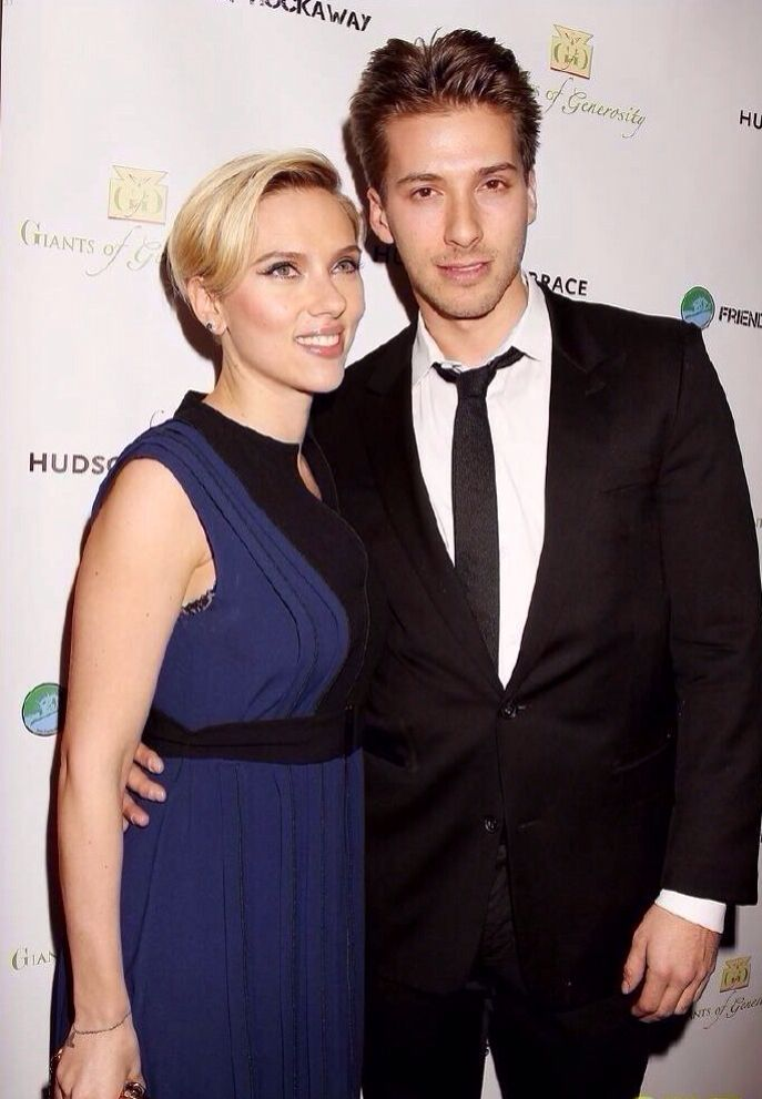 Hunter Johansson Scarlett Johansson Scarlett Hollywood Walk Of Fame