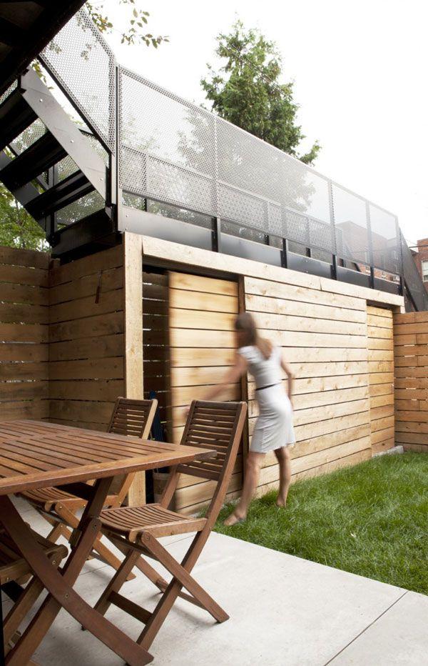 Terrasse pilotis escalier extérieur Pinterest Decking - terrasse sur pilotis metal