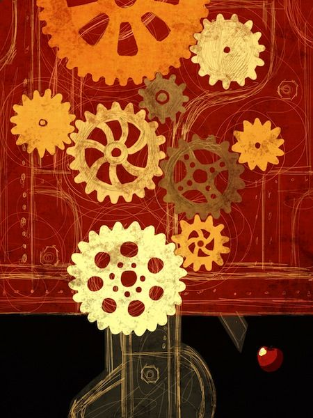 Toni Demuro Illustrations: tree 056
