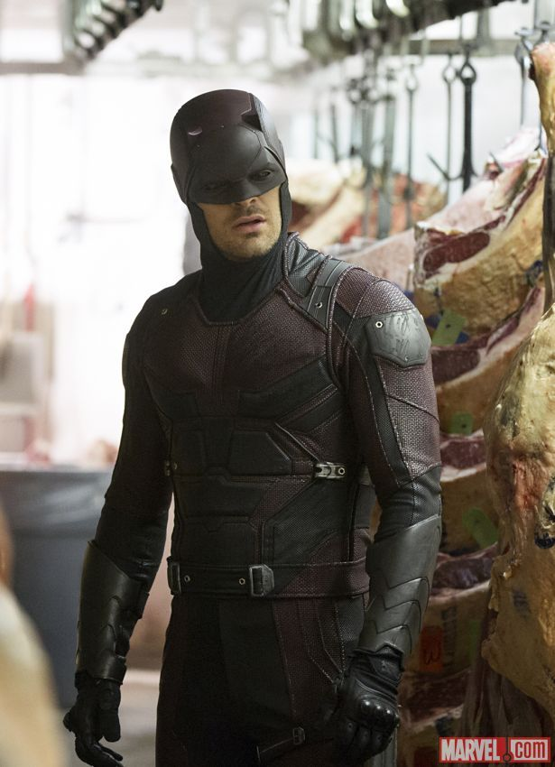 Daredevil (Charlie Cox) looks for answers in 'Marvel's Daredevil,' only on Netflix!