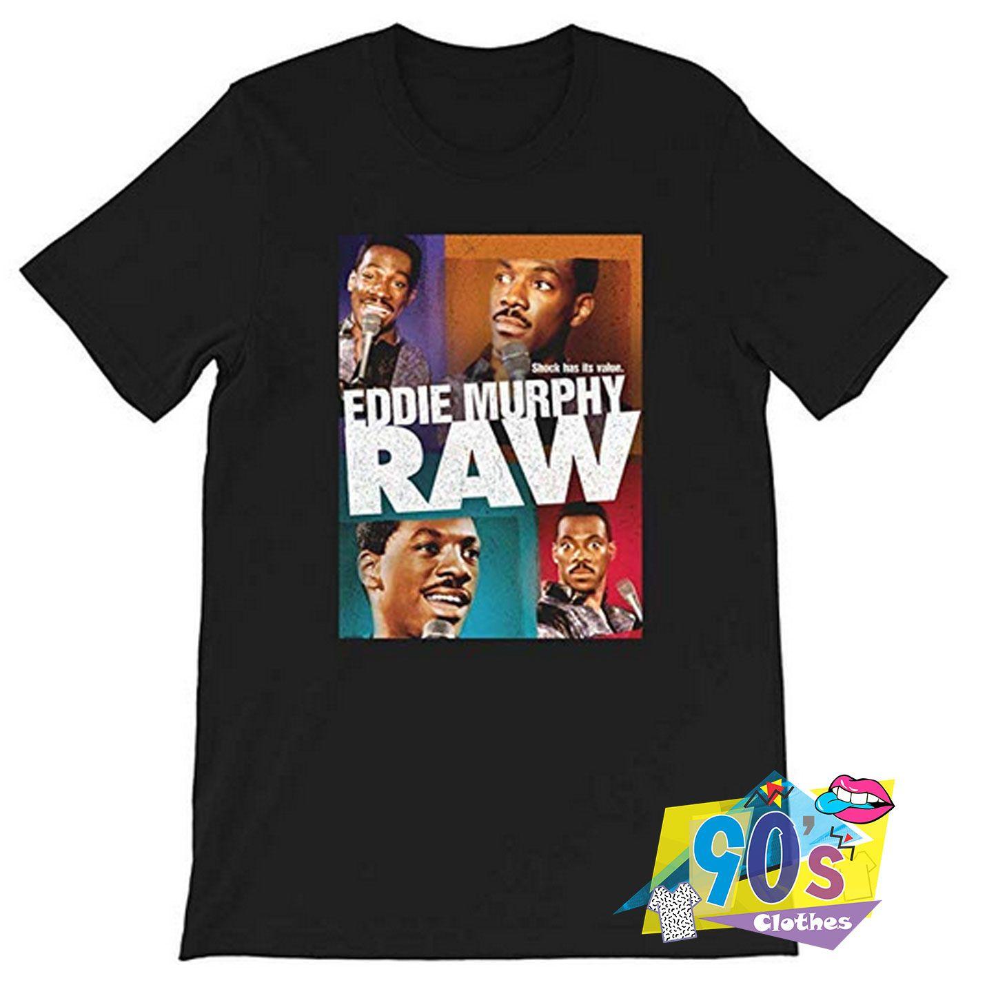 Eddie Murphy Raw Hollywood Actor Comedian T shirt #decadedayoutfits