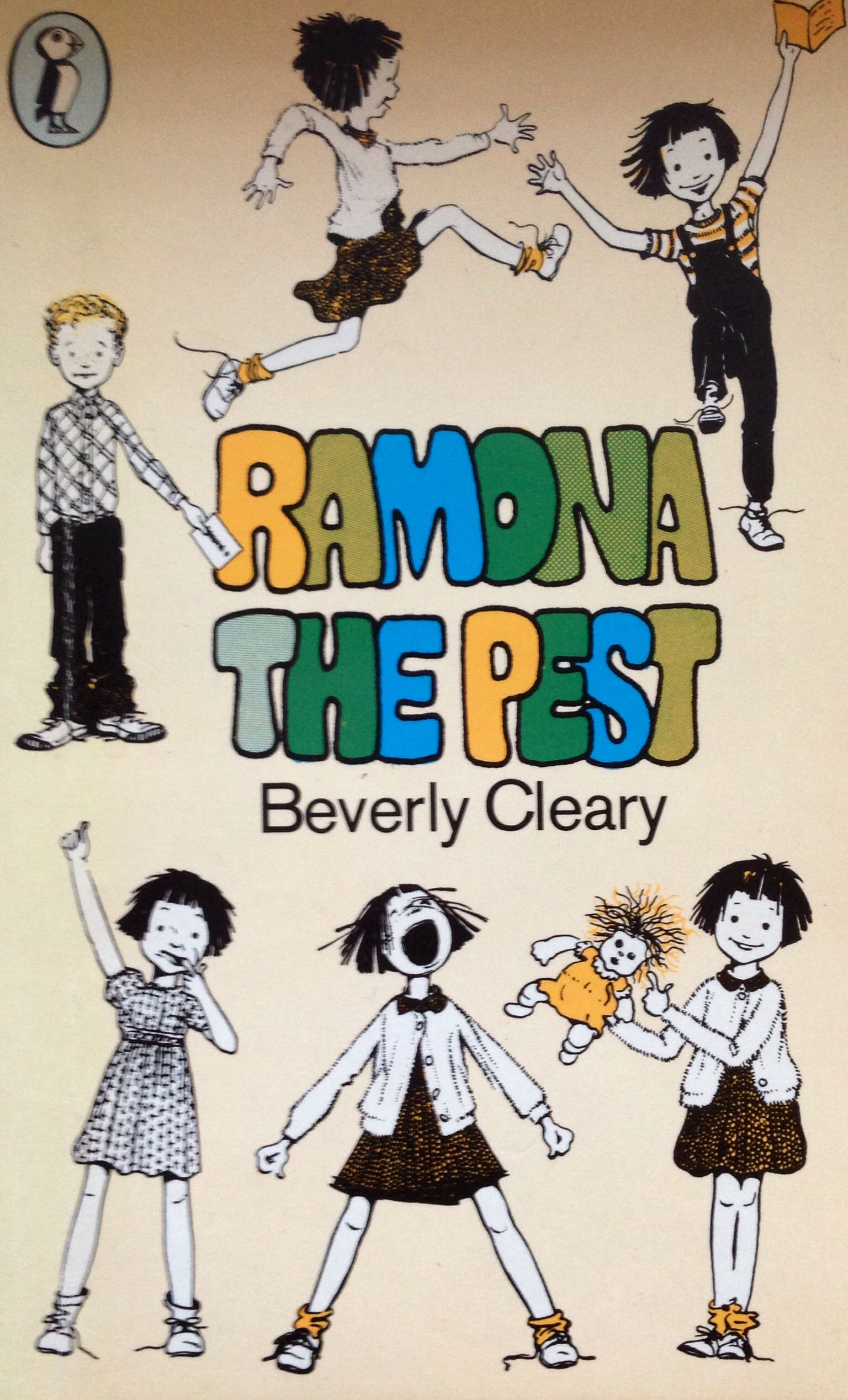Ramona the pest by Beverly cleary vintage penguin puffin
