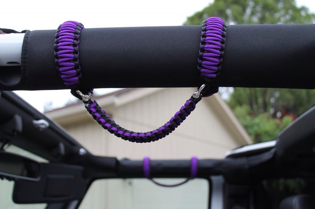 Want These In Pink Custom Jeep Wrangler Paracord Grab