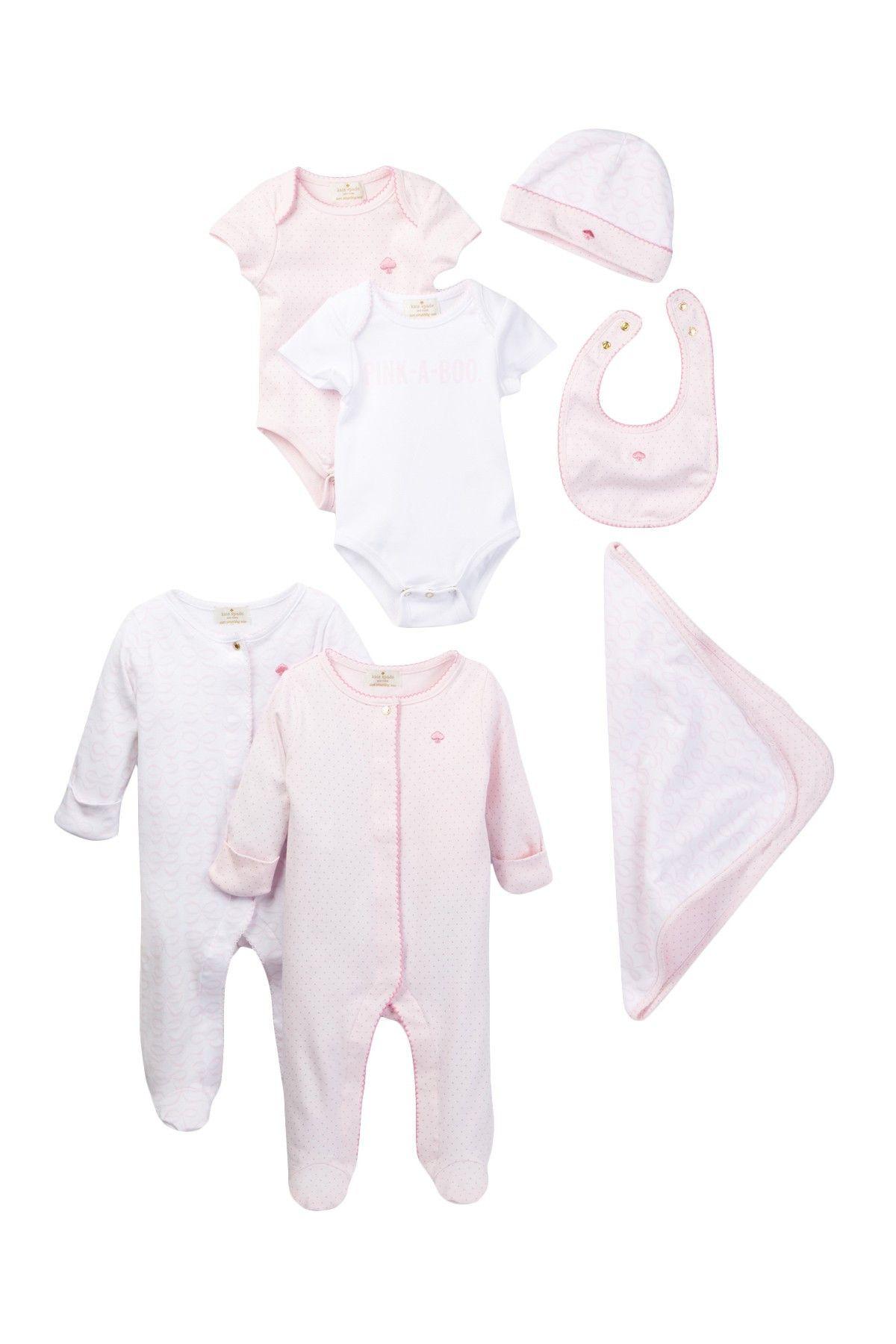 Seven Piece Gift Box Set Baby Girls
