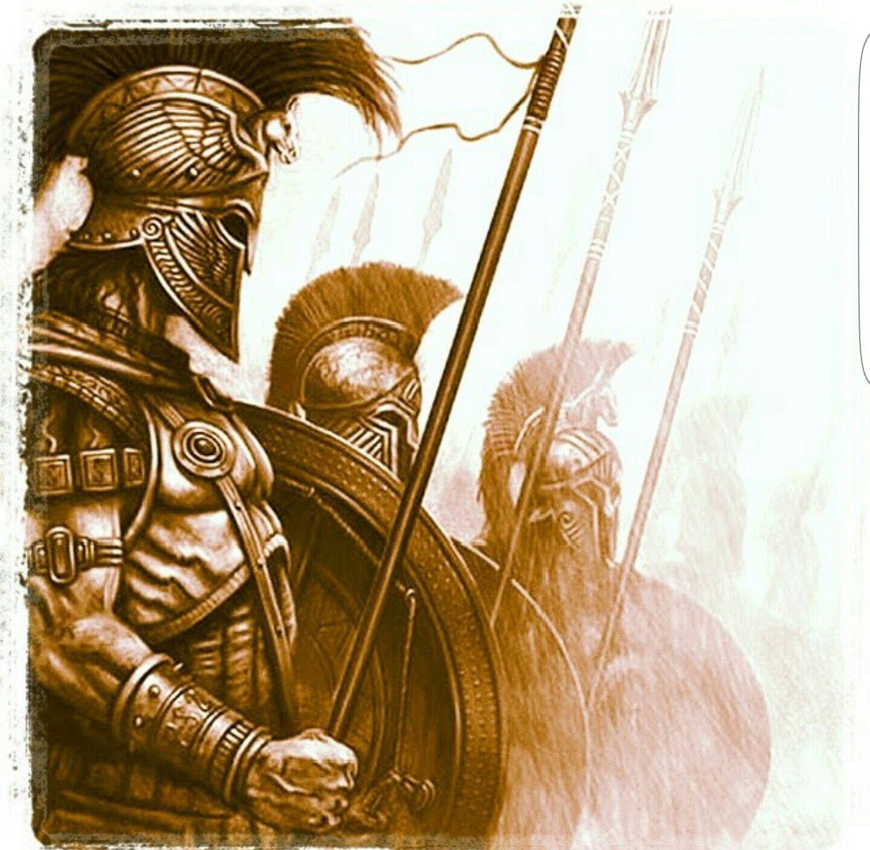 картинки древних воинов тату часть этой