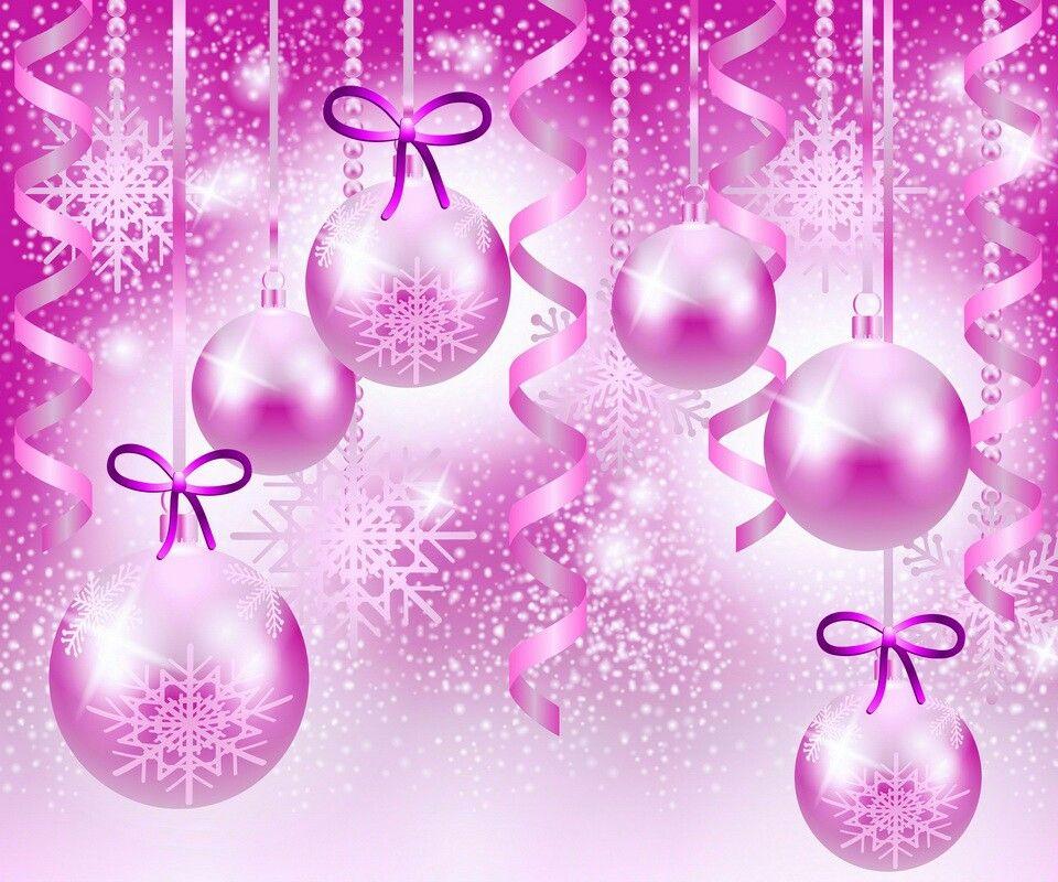 Pretty Pink Christmas Bulbs