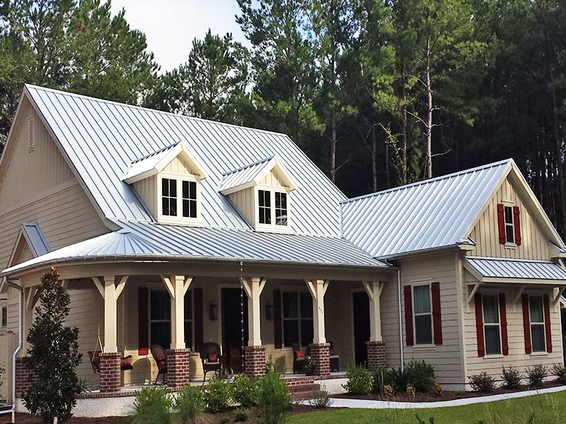 Residential Metal Roofing Project Metal roof houses