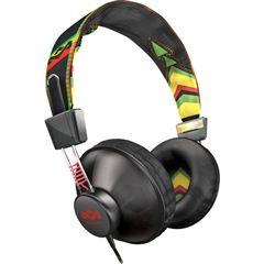 Jammin' Positive Vibration On-Ear Headphones with Microphone