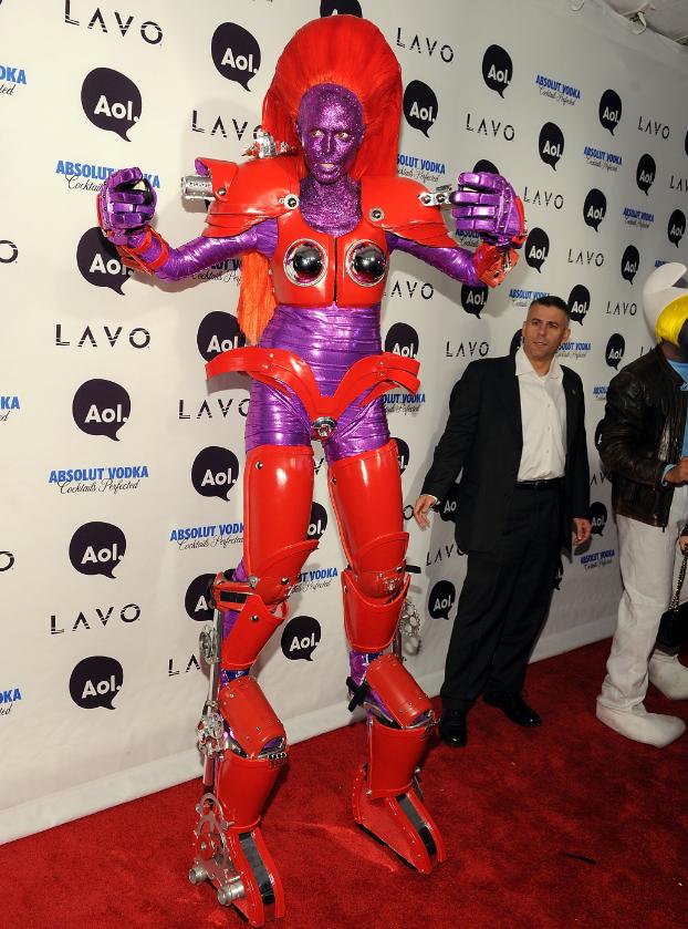 Heidi Klum Is Already Working On An Epic Halloween Costume [PHOTOS ...