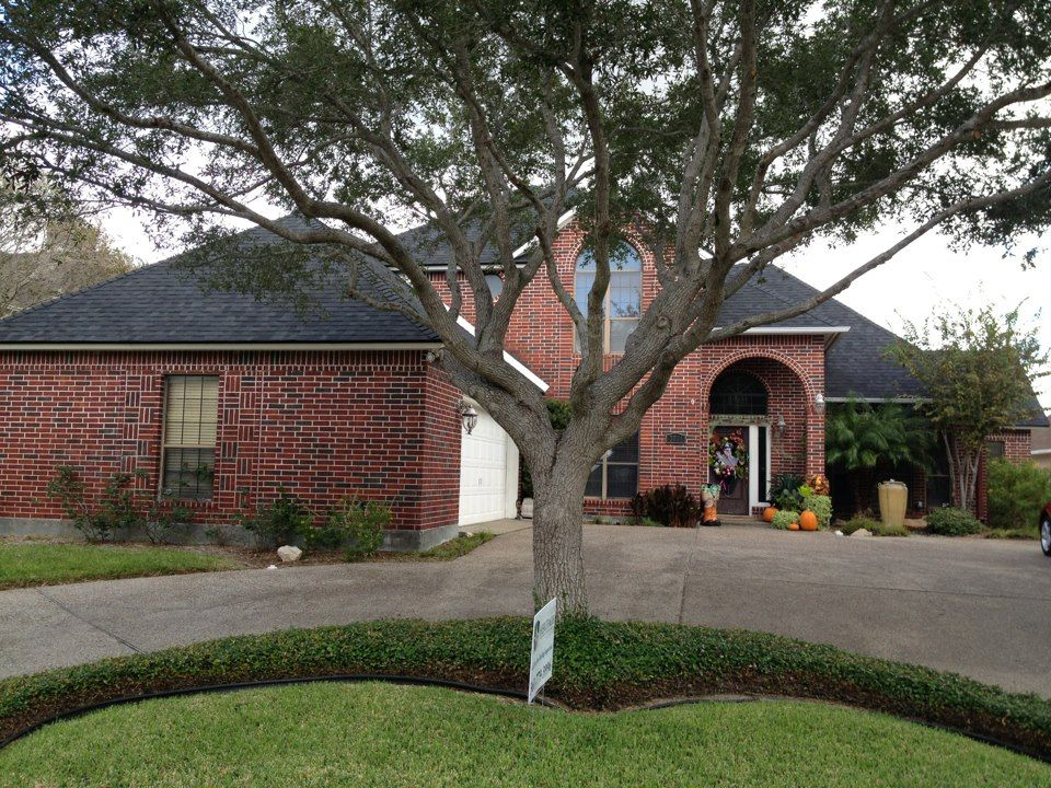 ReRoof of a home in the Corpus Christi, Texas area by